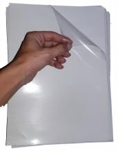 Adesivo Vinil Transparente para Impressoras a Laser