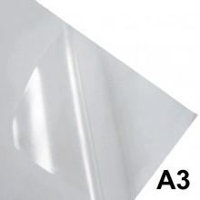 Adesivo Vinil Transparente Sublimático para Sublimação A3