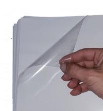 Adesivo Vinil Transparente para Impressoras a Jato de Tinta